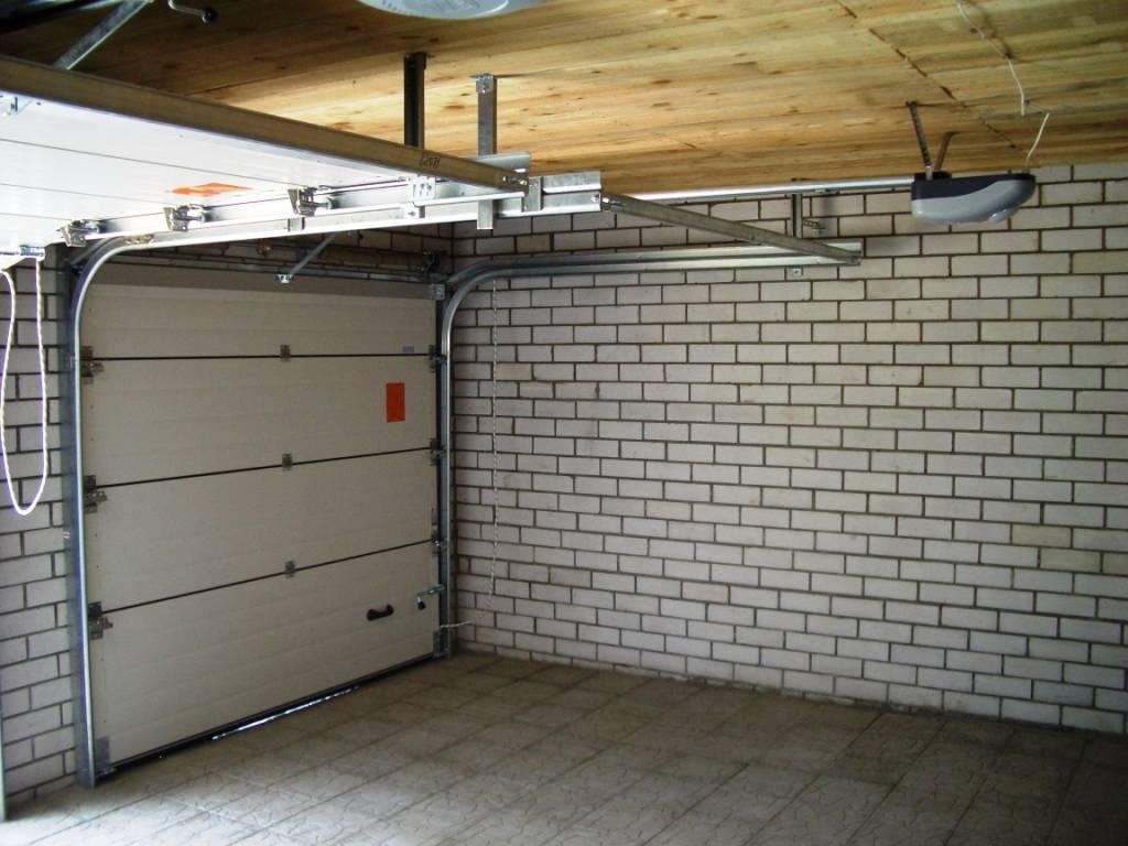 купить секционные ворота для гаража цена в казани